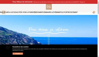 Site internet de Societe Amenagement Hoteliere Bendor