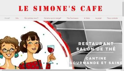 Site internet de Le Simone'S Cafe