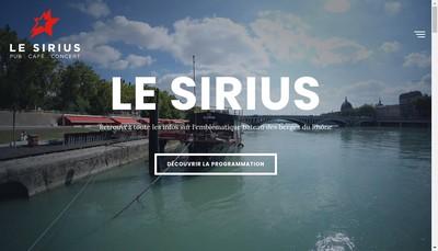Site internet de Le Sirius