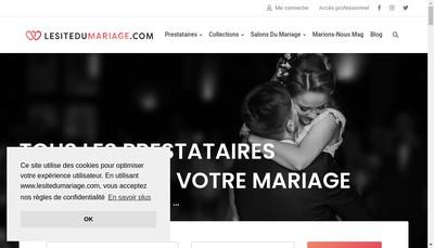 Site internet de Marions Nous
