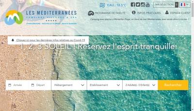 Site internet de Les Mediterranees Charlemagne