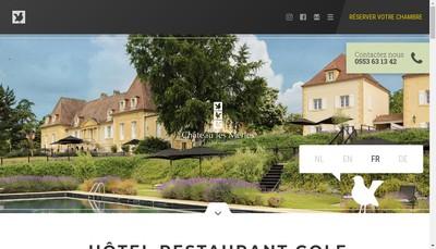 Site internet de Chateau les Merles