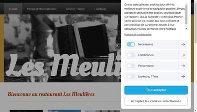 Site internet de Les Meulieres