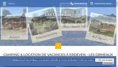 Site internet de EURL Camping les Ormeaux