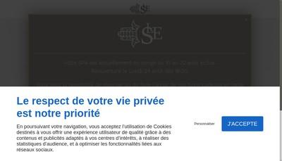 Site internet de Les Sources d'Eden