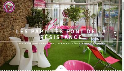 Site internet de Les Papilles Font de la Resistance
