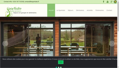 Site internet de Le Spartiate