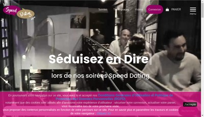 Site internet de Lespeeddating Com