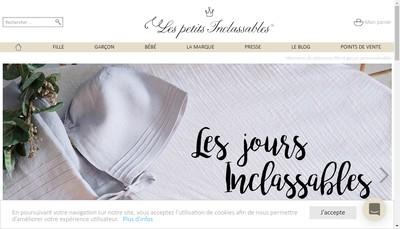 Site internet de Les petits Inclassables