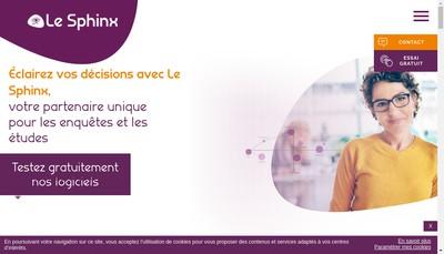 Site internet de Le Sphinx