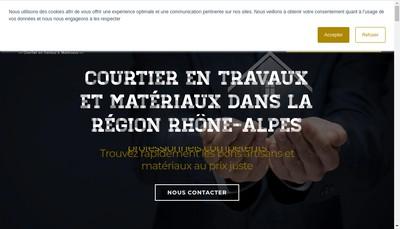 Site internet de Les Piliers du Batiment