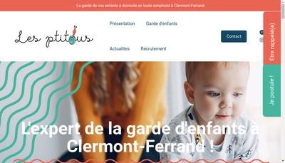 Site internet de Les Ptitous