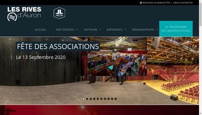 Site internet de Les Rives d'Auron