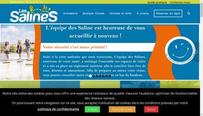 Site internet de Les Salines