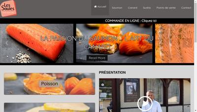 Site internet de Les Saules