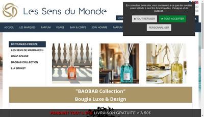 Site internet de La Boutique de Sophie