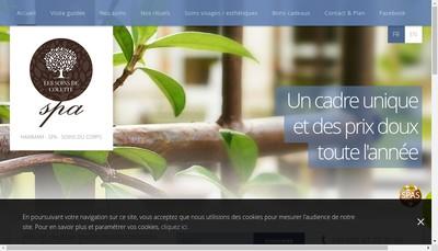 Site internet de Les Soins de Colette
