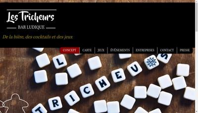 Site internet de Les Tricheurs