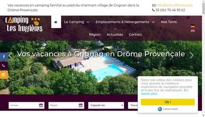 Site internet de Les Truffieres
