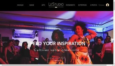 Site internet de Lestudio