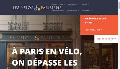 Site internet de Les Velos Parisiens