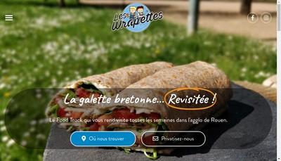 Site internet de Les Wrapettes