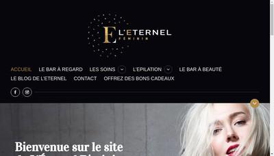 Site internet de L'Eternel Feminin