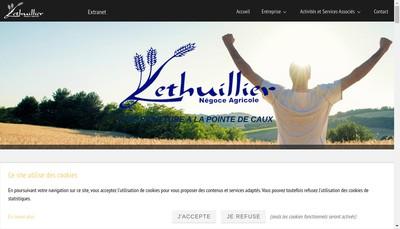 Site internet de SAS Lethuillier