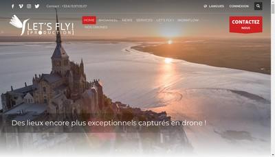 Site internet de Let'S Fly! [Production]
