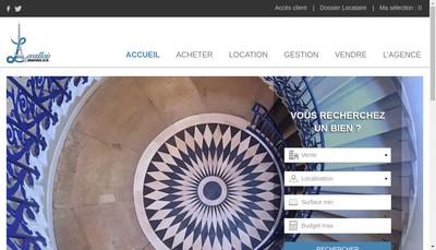 Site internet de Levallois Immobilier
