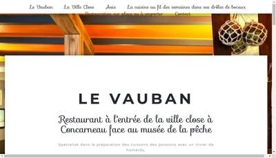 Site internet de Le Vauban