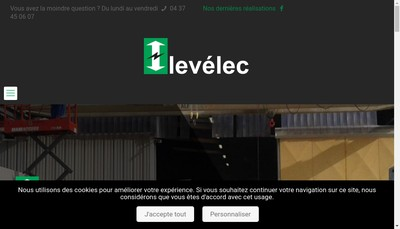 Site internet de Levelec