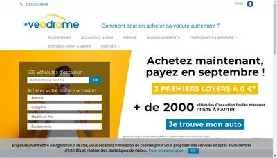 Site internet de Le Veodrome