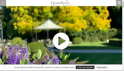 Site internet de Levernois Restauration