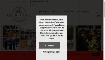 Site internet de Le Verre d'un