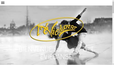 Site internet de L'Eviedanse