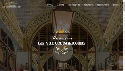 Site internet de Le Vieux Marche