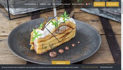 Site internet de Le Vieux Moulin