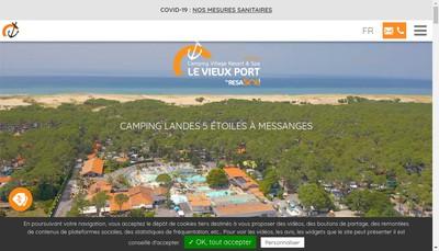 Site internet de SAS le Vieux Port