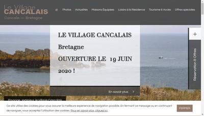 Site internet de Le Village Cancalais