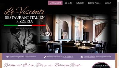 Site internet de Societe Bisontine de Restauration