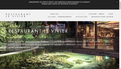 Site internet de Le Vivier