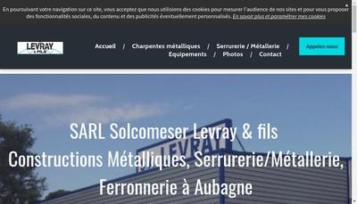 Site internet de Solcomerser