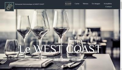 Site internet de Le West Coast