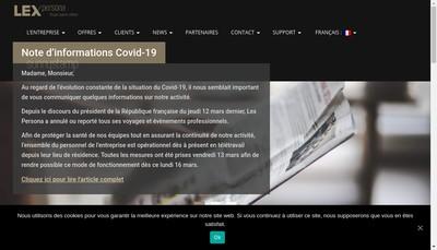 Site internet de Lex Persona