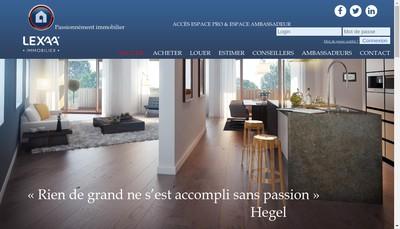 Site internet de Lexaa
