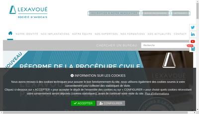 Site internet de Harter - Lexavoue Colmar