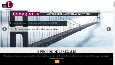 Site internet de Lexegalis