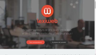 Site internet de Lexiweb