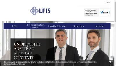 Site internet de La Francaise Investment Solutions